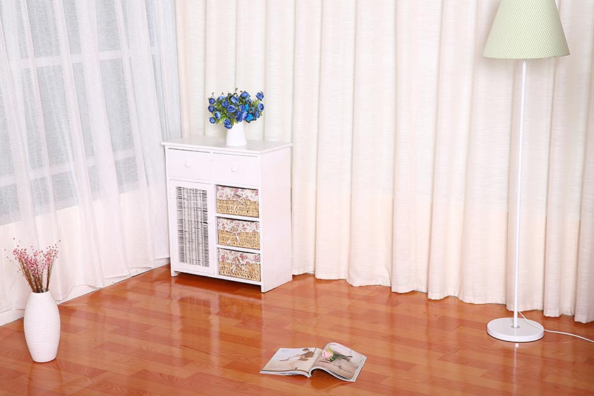 Mesh Fabric PVC Flooring