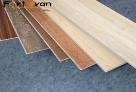 Fire resistant lvt pvc luxury flooring tile