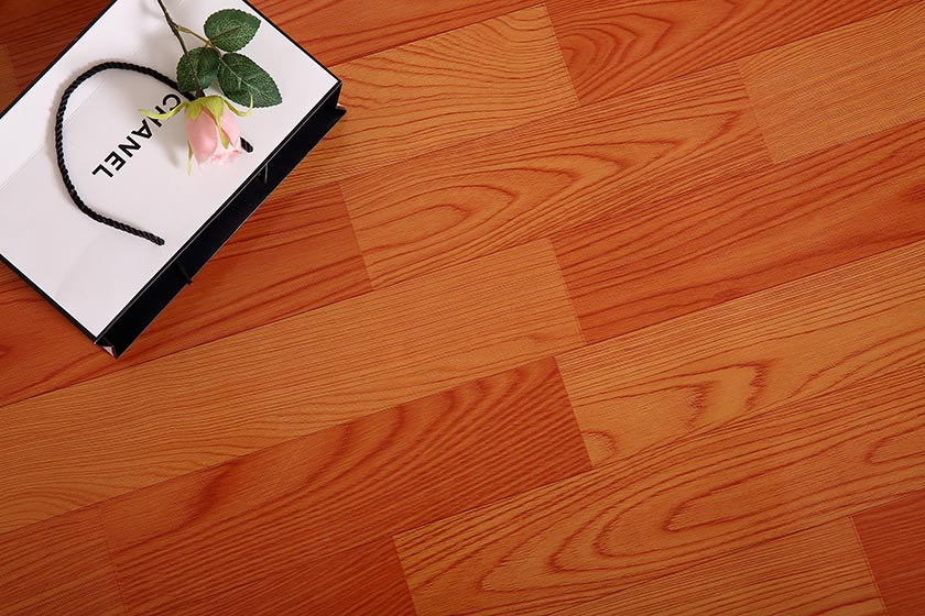 0.65-2.0mm Thickness Linoleum Floor with PVC Film